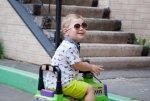 Dziecko na rowerku