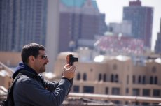 robienie zdjęć w mieście